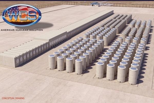 Interim Storage Partners proposed high-level radioactive waste dump