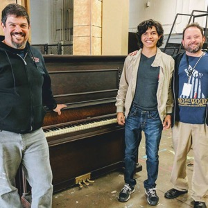Welman Project donated piano
