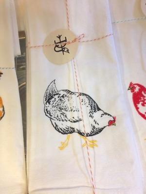 Chicken Tea Towels