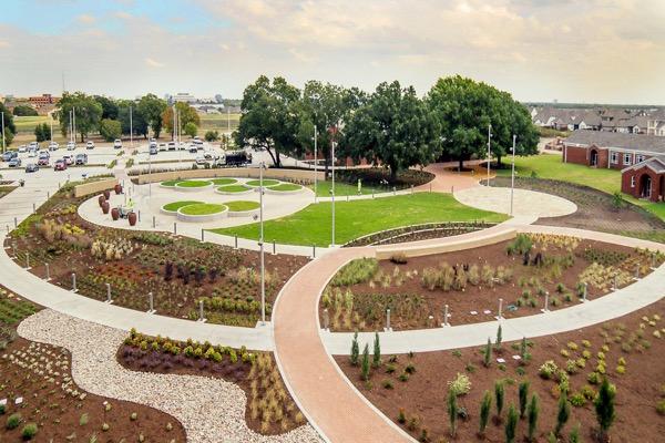 The Gardens at Texas A&M AgriLife Center in Dallas