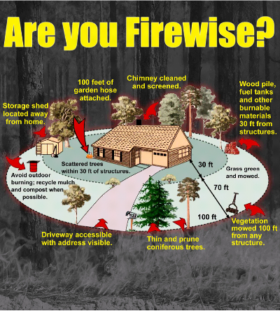 Tips On Firewise Landscaping Greensource Dfw