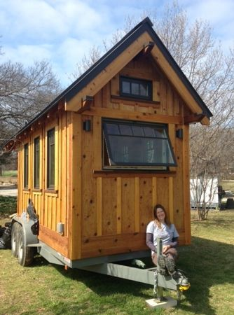 Dallas woman says tiny house is key to sustainable living
