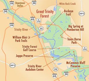 North Texas Wild: Your guide to exploring the Great Trinity Forest ...