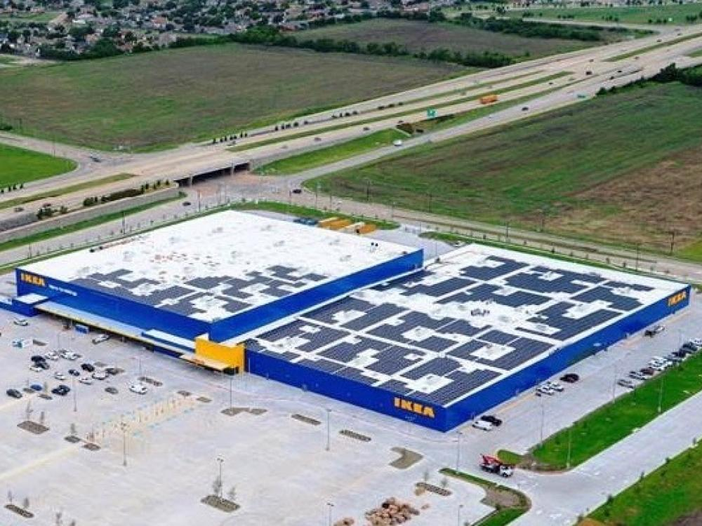 Solar powered ikea to open in grand prairie wednesday for Ikea grand prairie jobs