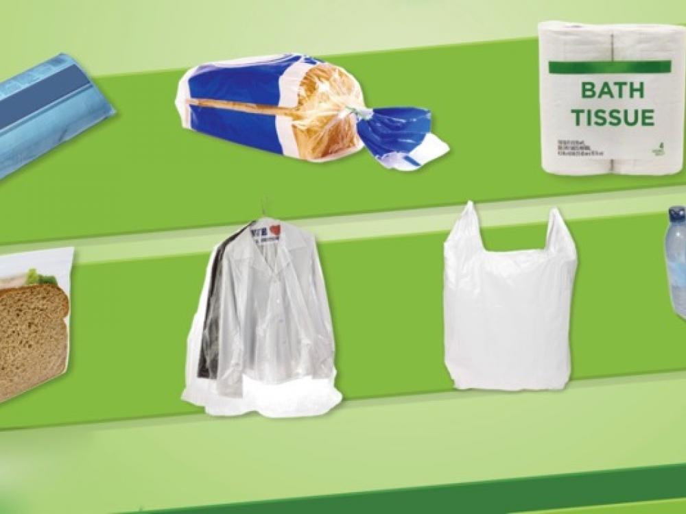 Variety Of Plastic Bags Accepted In Grocery Recycling Bins