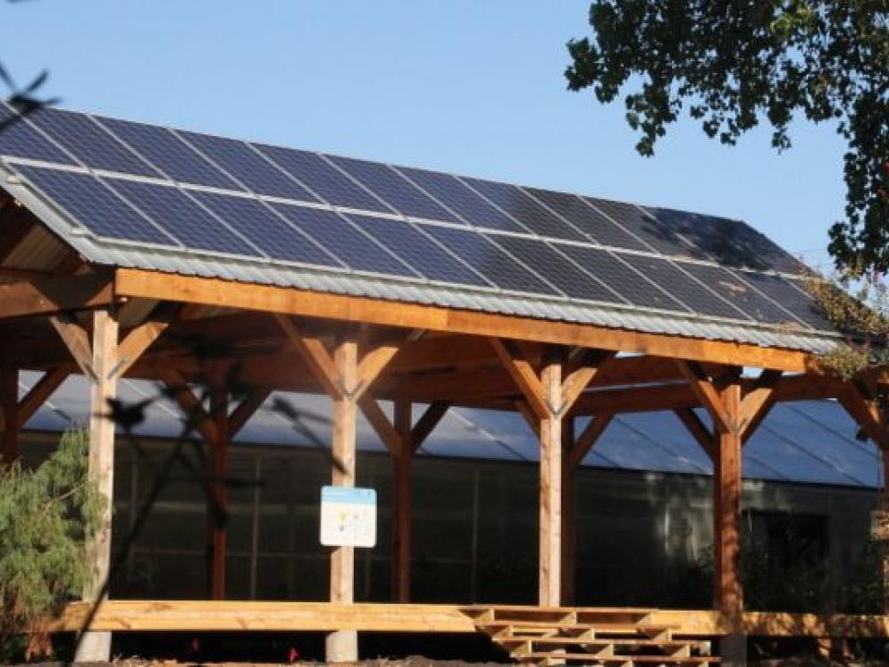 Texas Discovery Garden Solar Array