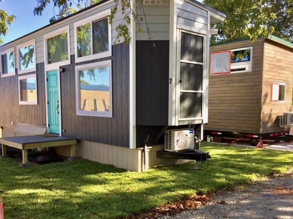 Tiny House Village Opens In Lake Dallas Greensource Dfw
